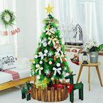 [행복한세상]크리스마스 스노우골드믹스솔트리160cm