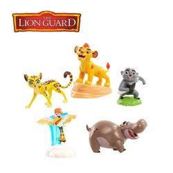 [Disney] 디즈니 라이온가드 5팩 컬렉션 세트/피규어
