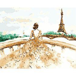 DIY 명화그리기 - 에펠탑의 신부 물감2배/컬러캔버스