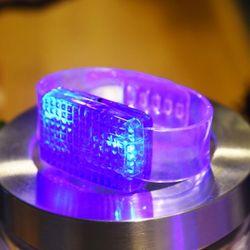 LED 이퀄라이저 팔찌 [블루]