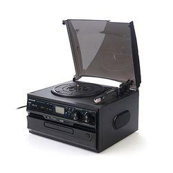 사운드룩 오디오 CDUSBRADIO LP턴테이블 SLT-300K