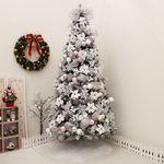 겨울꽃스노우트리 300cm 단면 (전구포함) 크리스마스
