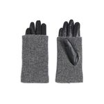 Roll & Rong leather Gloves black