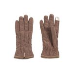 [Smart Phone]Soft Padding Gloves brown