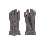 [Smart Phone]Soft Padding Gloves gray