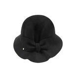 Ladyish Ribbon Hat BLACK