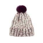 Lovable Fox knit Hat IVORY