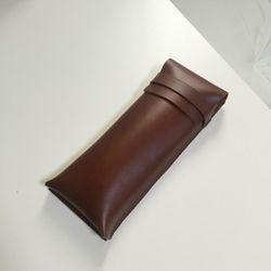 Pencil Case (Small) . Brown
