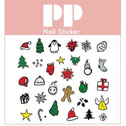 PP NAIL STICKER -CHRISTMAS COOKIES