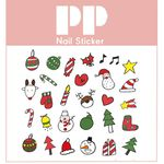 PP NAIL STICKER -RUDOLPH
