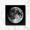 인테리어 액자  풀 문 Full moon A4 블랙 프레임