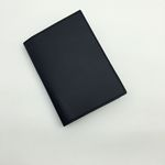 neat.A Passport Case . Black