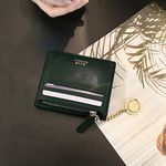 [골드링 증정] D.LAB Coin name card wallet  - Green