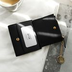 [골드링 증정] D.LAB Coin name card wallet  - Black