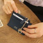 [골드링 증정] D.LAB Coin simple card wallet  - Navy