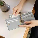 [골드링 증정] D.LAB Coin Half wallet  - Gray