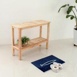 [KAYU]땡처리 원목가구- 에슐리 선반 테이블