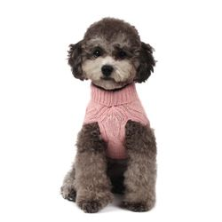 Lambswool Turtleneck Sweater (Pink)