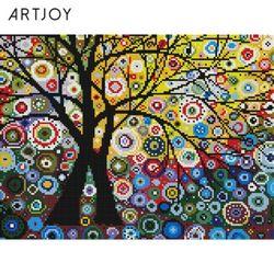 아트조이 DIY 보석십자수 생명의 나무 30x40cm