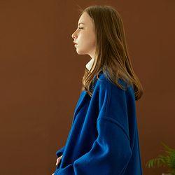 hoist over long coat (cobalt blue)