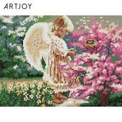 아트조이 DIY 보석십자수 천사의 손짓 30x40cm