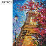 아트조이 DIY 보석십자수 밤의 에펠탑 30x40cm