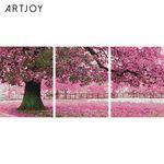 아트조이 DIY 보석십자수 벚꽃 나무 3단 30x40cm