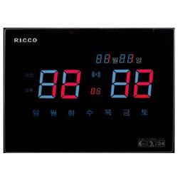 251 전파수신 디지털 전자벽시계