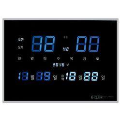 3300 전파수신 디지털 전자벽시계