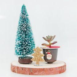 미니자석화분 (크리스마스 미니트리)