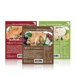 닭가슴살 3종 모음전 (1kg)