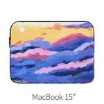 Purple clouds (노트북 15인치 파우치)