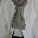 Duck CODUROY muffler - Beige gray