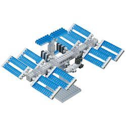 [카와다/나노블럭]NBH-129 우주정거장