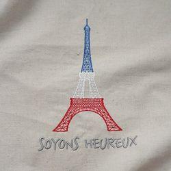 앤쏘라이프 리넨-봉주르 에펠탑 커트지 내추럴그레이