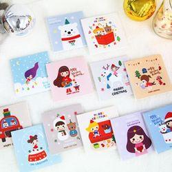 크리스마스 카드 에디션 패턴펠트지