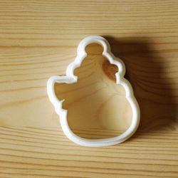 꽁꽁 눈사람 쿠키커터