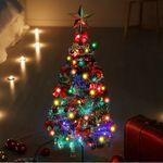 크리스마스트리 눈꽃 100cm 전구포함 풀세트-어댑터X