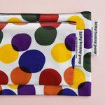rainbow bubble pouch (medium)