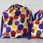 storage bag rainbow bubble (small)