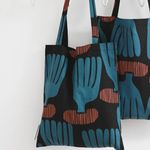 coral bookstore bag by Jessica Nielsen