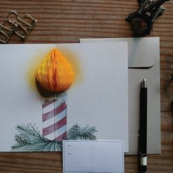 POP UP CARD CANDLE
