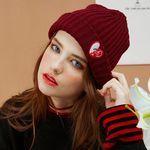 bpb MIX LUV BEANIE - BURGUNDY_b