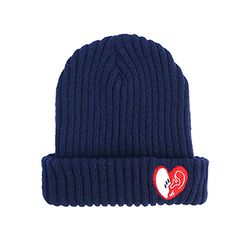 bpb MIX LUV BEANIE - NAVY_b