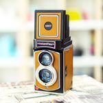 InstantFlex TL70 2.0 즉석카메라 가죽스킨(카멜)