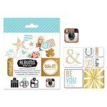 Studio Gold 인스타 카드 & 포토프레임 세트