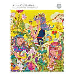 Asian Inspiration Art & Graphics &  illustrations