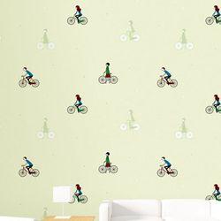 [아이방벽지] A1051-1 자전거여행