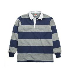 12oz CLASSIC RUGBY JERSEYS Oxford-Navy