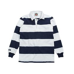 12oz CLASSIC RUGBY JERSEYS White-Navy